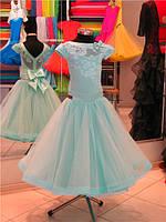 Платье для бальных танцев-бейсик, Mintgreen-fat