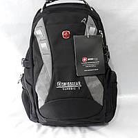 Рюкзак Swissgear, под ноутбук, туристический с системой Usb, наушники.