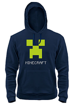 Толстовка MINECRAFT LOGO GREY, фото 2