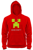 Толстовка MINECRAFT LOGO GREY, фото 3