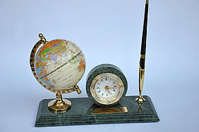 Набор настольный мраморный Penstand с глобусом 2006