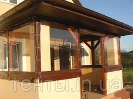 Мягкие окна ПВХ на веранду