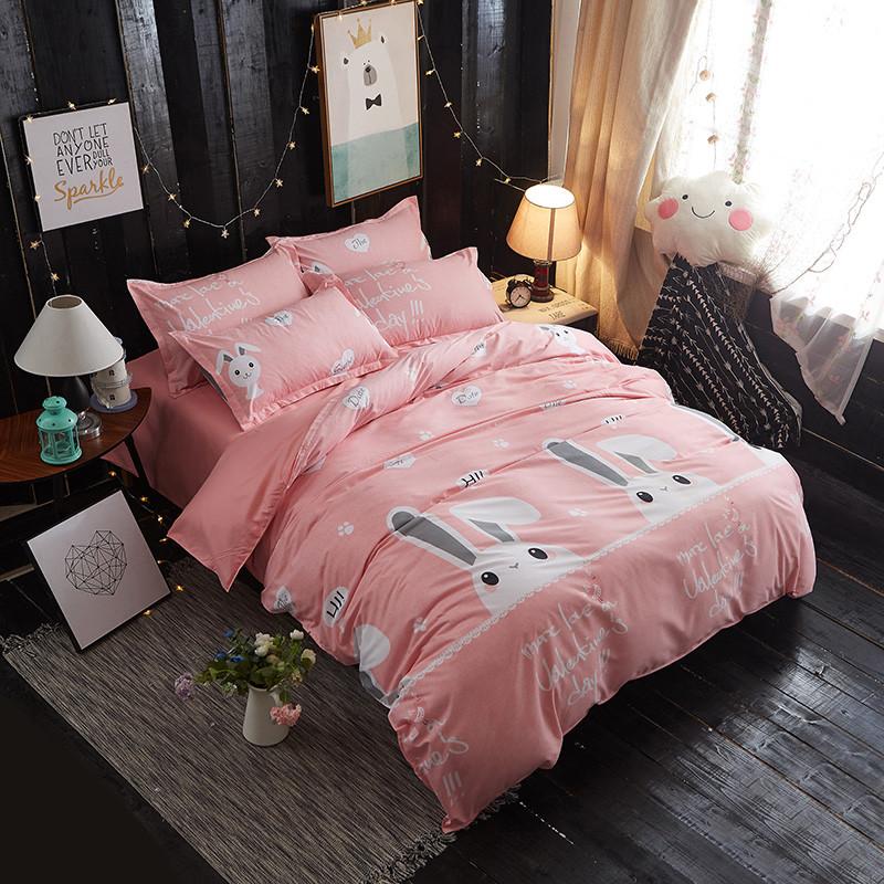 Комплект постельного белья Зайка (двуспальный-евро) Berni Home
