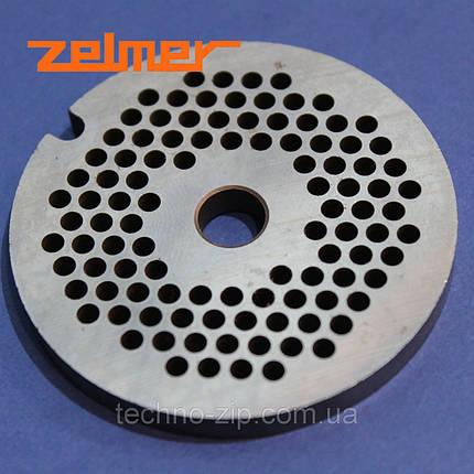 """Решетка (сито) для мясорубки Zelmer 5""""   3 мм, фото 2"""