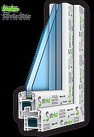 Металлопластиковые окна Steko R 300 Silver Star