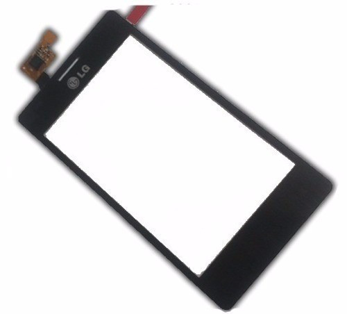 Сенсорний екран для смартфону LG E615 Optimus L5 Dual, тачскрін чорний