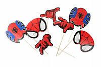 Набор фотобутафории Спайдермен. Человек паук 8 предметов