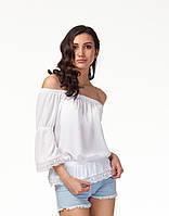 Женская блуза с кружевом. К092, фото 1