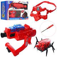 Детский Набор оружия 2182B, пистолет, маска, лазер, на бат-ке