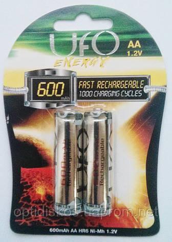 Аккумуляторная батарея UFO HR6 Ni-MH 600mAh, фото 2