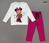 Пижама Minnie Mouse для девочки. 2-3; 4-5; 6-7 лет