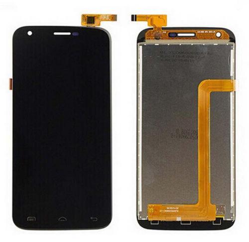 Дисплей (экран) для Doogee Y100 Pro с сенсором (тачскрином) черный