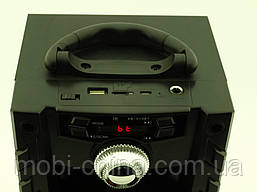 Колонка - чемодан Kipo KB-510BT 10W с караоке FM MP3, фото 3