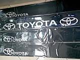Виниловые наклейки на лобовое стекло TOYOTA  135х17 см, фото 2