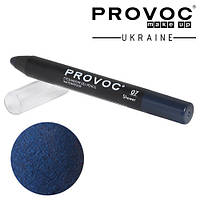 Тени-карандаш водостойкий Provoc №07 (сапфировый, шиммер)