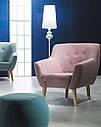 Дизайнерское мягкое кресло Signal Nordic 1, коричневое, фото 3