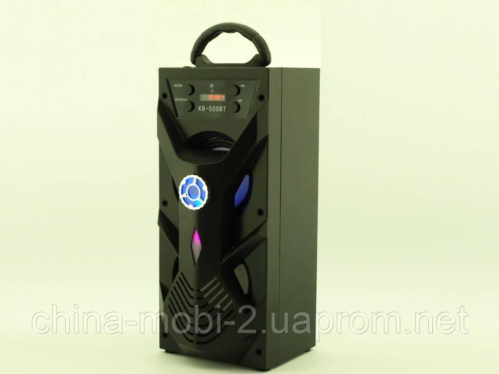 Колонка - валіза Kipo KB-500BT 10W boombox з караоке FM MP3