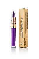 Блеск для губ + помада-карандаш MAC Long Lasting Lip Gloss - 2 в 1 (ПАЛИТРА 12 ШТ)