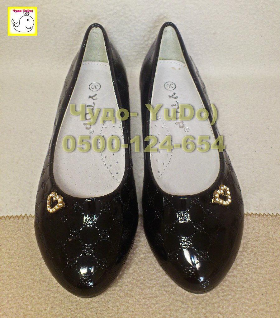 Туфли в стиле Шанель девочкам, 30р. стелька 19 см