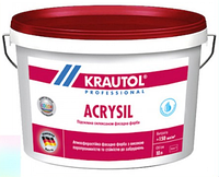 Краска фасадная силикон-модифицированная Krautol Acrysil B1 (10л), фото 1