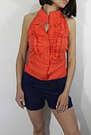 Комбинезон женский с шортами сине-красный 36(42)-38(44)