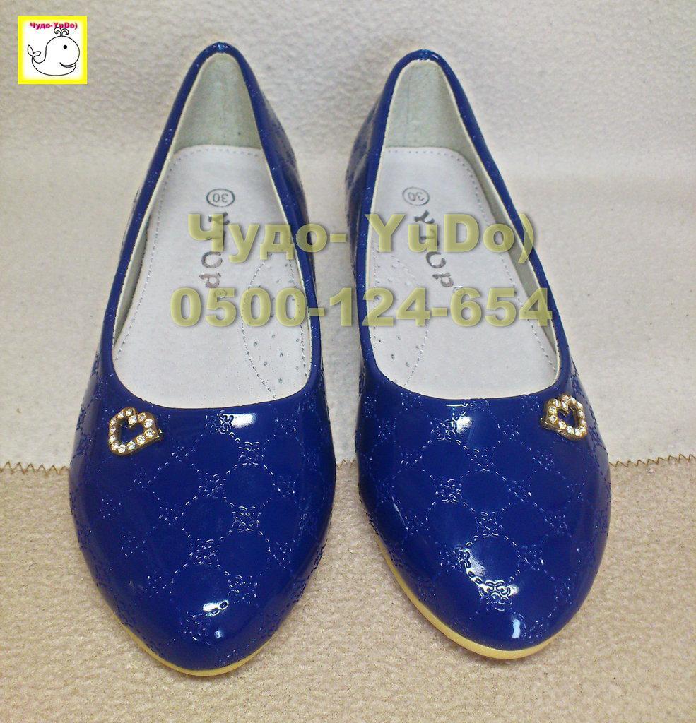 Туфли в стиле Шанель девочкам
