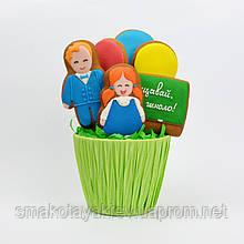 Цветочная композиция «Школьный праздник»