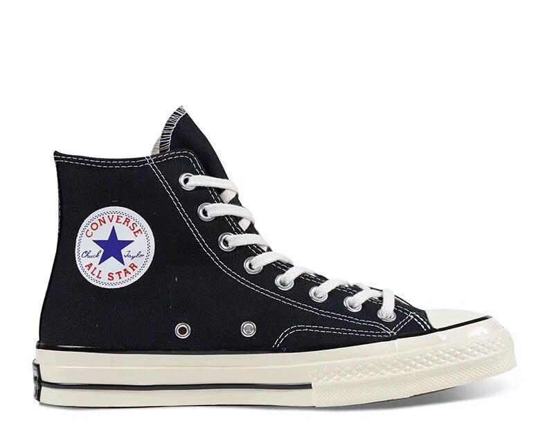 """Кеды Converse Chuck Taylor All Star II High """"Black/White/Navy"""". Кеды Converse в черном цвете. Высокие кеды."""