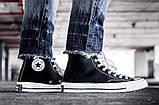 """Кеды Converse Chuck Taylor All Star II High """"Black/White/Navy"""". Кеды Converse в черном цвете. Высокие кеды., фото 5"""