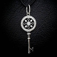 Серебряный кулон (подвеска)Ключ