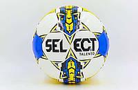 Мяч футзальный №4 SELECT TALENTO сине-желтый