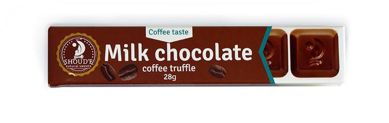 Шоколад Shoude 28г кавовий трюфель