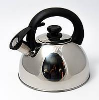Чайник из нержавеющей стали со свистком 2,5 л MR 1302