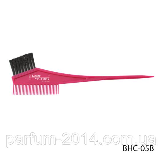 Щетка-расческа для окрашивания волос BHC-05B, размер: 21х4 см