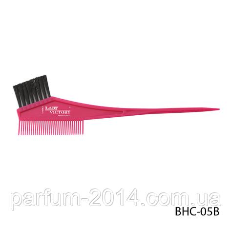 Щетка-расческа для окрашивания волос BHC-05B, размер: 21х4 см, фото 2