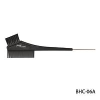 Щетка-расческа для окрашивания волос BHC-06A, с металлическим наконечником, размер: 22х4,5 см