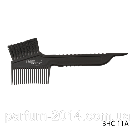Щітка-гребінець для фарбування волосся BHC-11A, розмір: 18,3х4,8 см