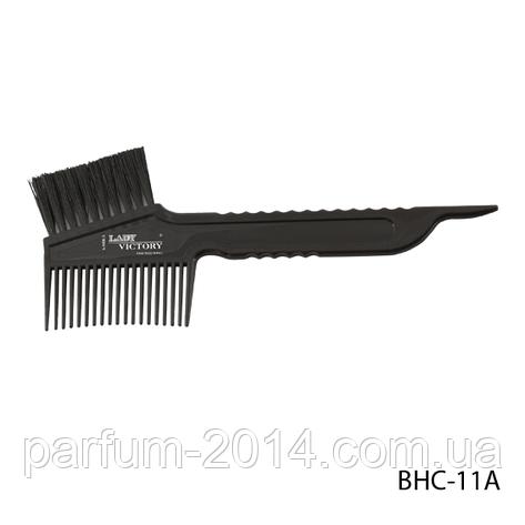 Щетка-расческа для окрашивания волос BHC-11A, размер: 18,3х4,8 см, фото 2