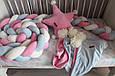 Бортик - коса в детскую кроватку, фото 4