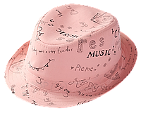 Шляпа детская челентанка х/б колобок коралл