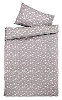 Комплект постельного белья хлопок высокого качества (1 пододеяльник и 1 наволочка ) 140x200 см