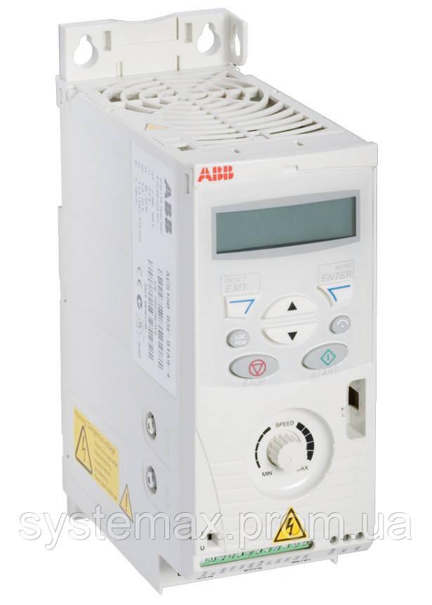 Преобразователь частоты ABB ACS150-01E-02A4-2 (0,37 кВт, 220 В)