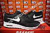 Кроссовки Nike Air Max Thea Black White Черные женские, фото 3