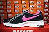 Кроссовки Nike Tanjun Black Pink Черные женские, фото 5