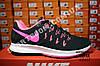 Кроссовки Nike Zoom Pegasus 33 Black Pink Черные женские, фото 5