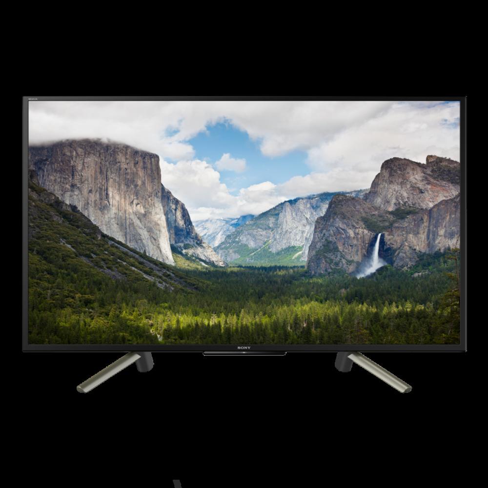 Телевизор Sony KDL-43WF665 (MXR400Гц,FullHD,Smart, HDR10, HLG, X-RealityPRO, Live Colour, 10Вт, DVB-C/Т2/S2)