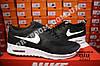 Кроссовки Nike Air Max Thea Black White Черные мужские, фото 3