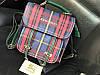 ХИТ 2018!Стильный рюкзак-сумка Burberry в зеленом цвете 1791