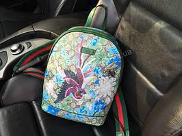 Женский рюкзак Gucci Lux из натуральной кожи  1790
