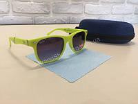 NEW!Летние очки Ray Ban в яркой  оправе лимонного цвета 1796, фото 1